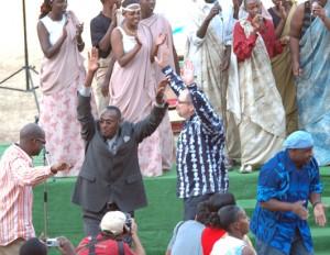 Rick Warren in Rwanda