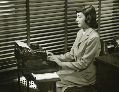 Women's work, circa 1940