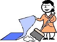 sweepunderrug