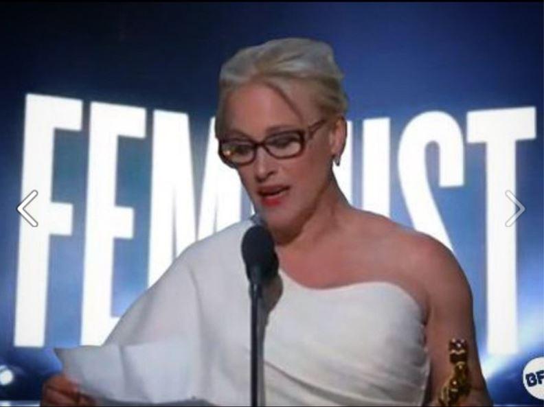 Patricia Arquette feminist